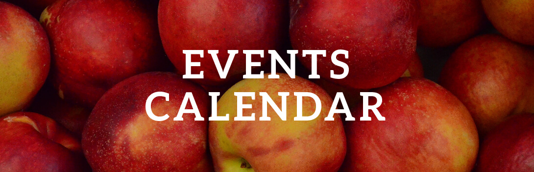 Events Calendar over Apples